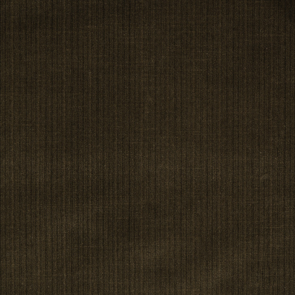 STRIE VELVETS Leyritz Fabric - Walnut