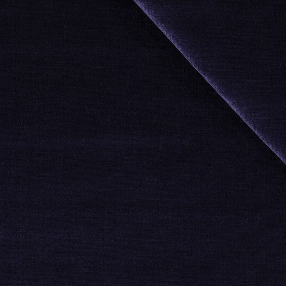 STRIE VELVETS Strie Velvet Fabric - Blueberry