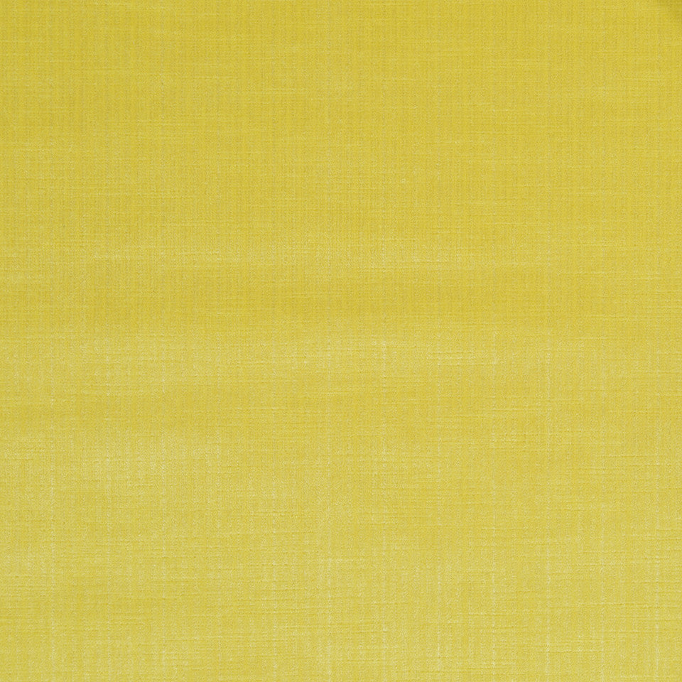STRIE VELVETS Strie Velvet Fabric - Lemon