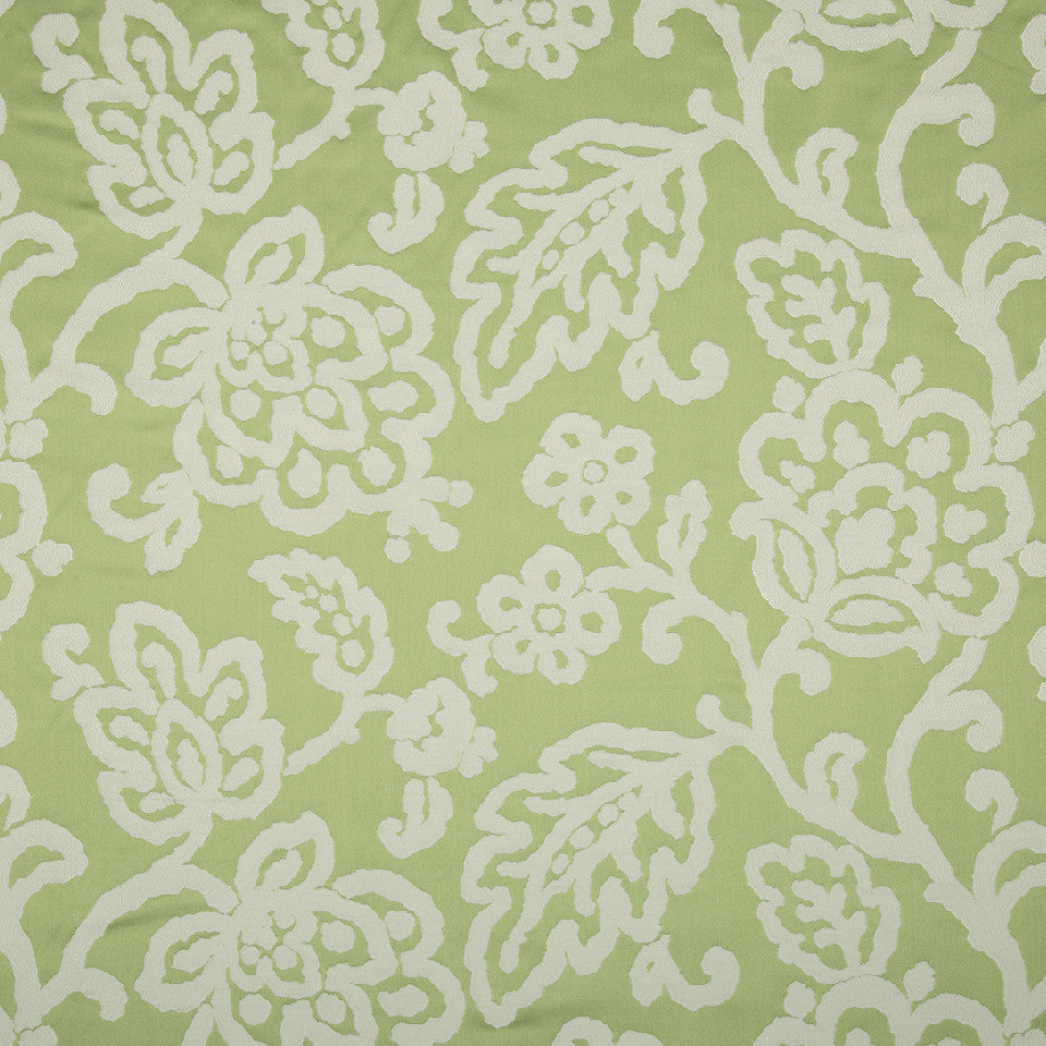 SPRING GRASS Happy Beauty Fabric - Spring Grass
