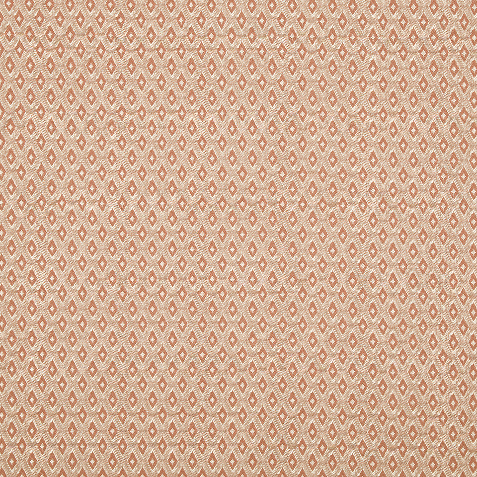CORAL REEF Many Diamonds Fabric - Coral Reef