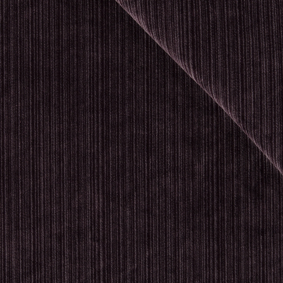 STRIE VELVETS Plush Strie Fabric - Fig