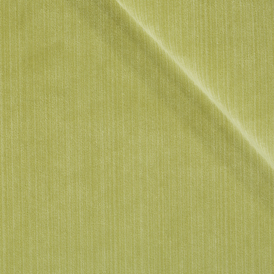STRIE VELVETS Plush Strie Fabric - Lemongrass