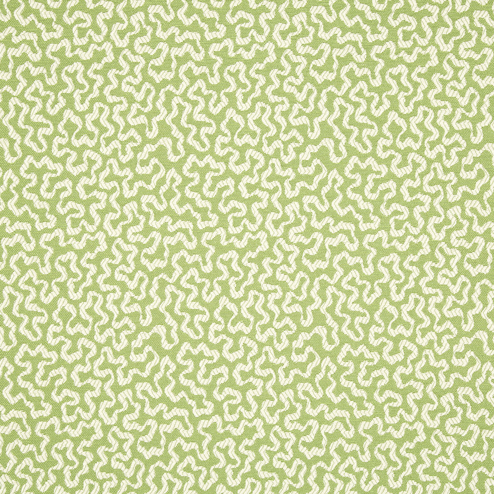 SPRING GRASS Spaced Out Fabric - Spring Grass