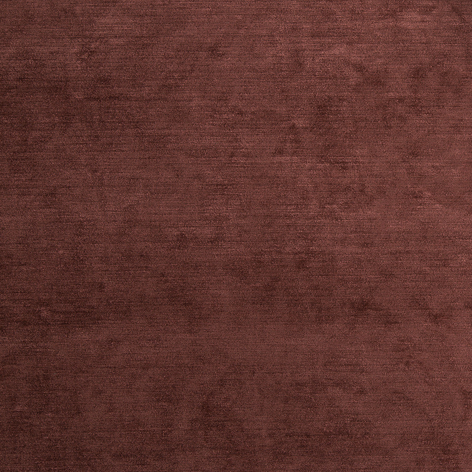 FINE CHENILLES Fine Chenille Fabric - Red Earth