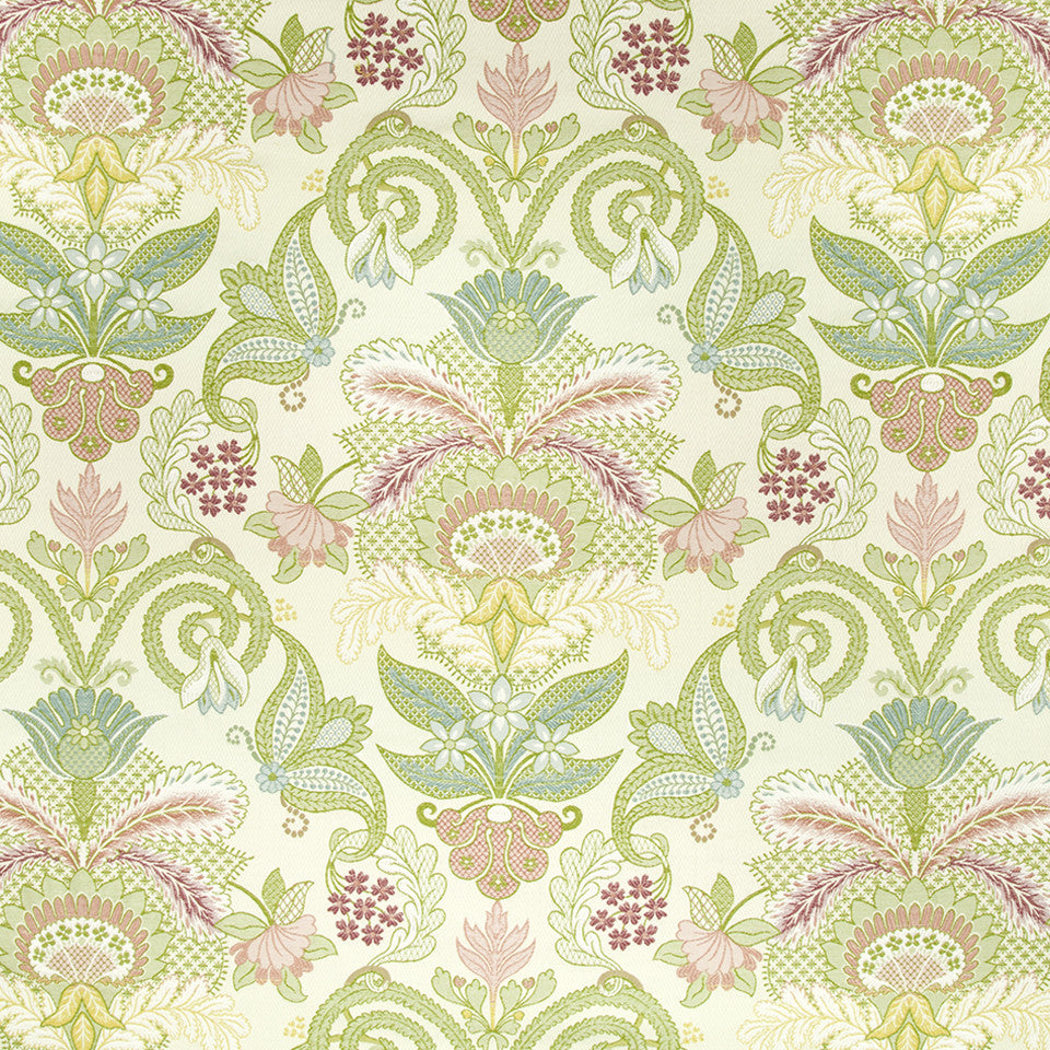 CORAL REEF Floral Array Fabric - Coral Reef