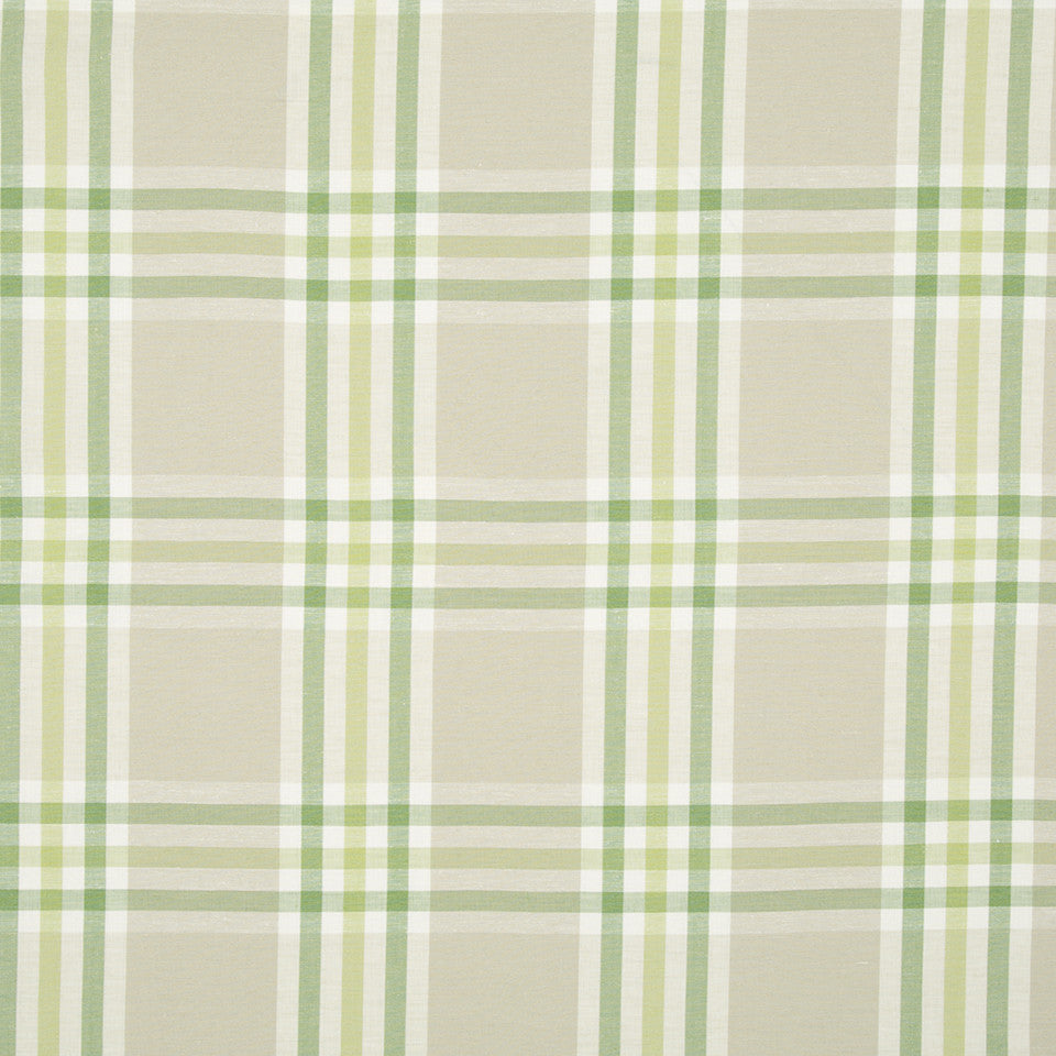 SPRING GRASS Plenty Plaid Fabric - Spring Grass