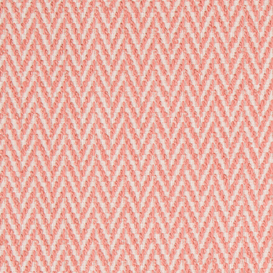 CORAL REEF Nesting Zigzag Fabric - Coral Reef