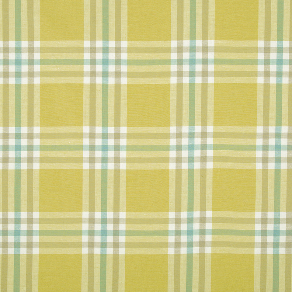 SUNRAY Plenty Plaid Fabric - Sunray
