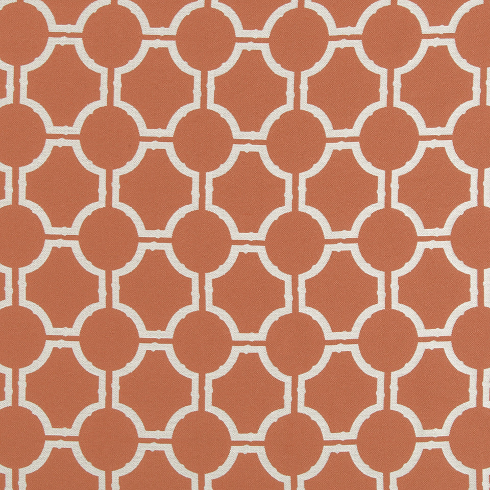 CORAL REEF Rotary Way Fabric - Coral Reef