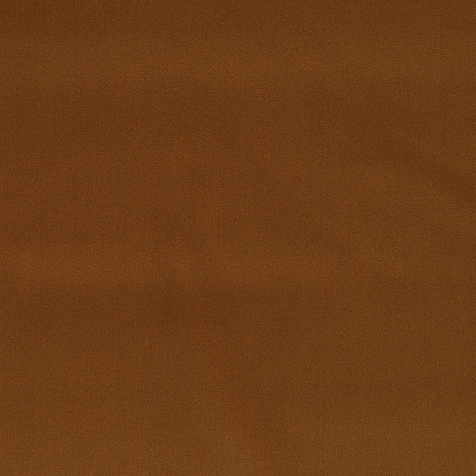 COTTON VELVET SOLIDS Torino Velvet Fabric - Burnt Orange