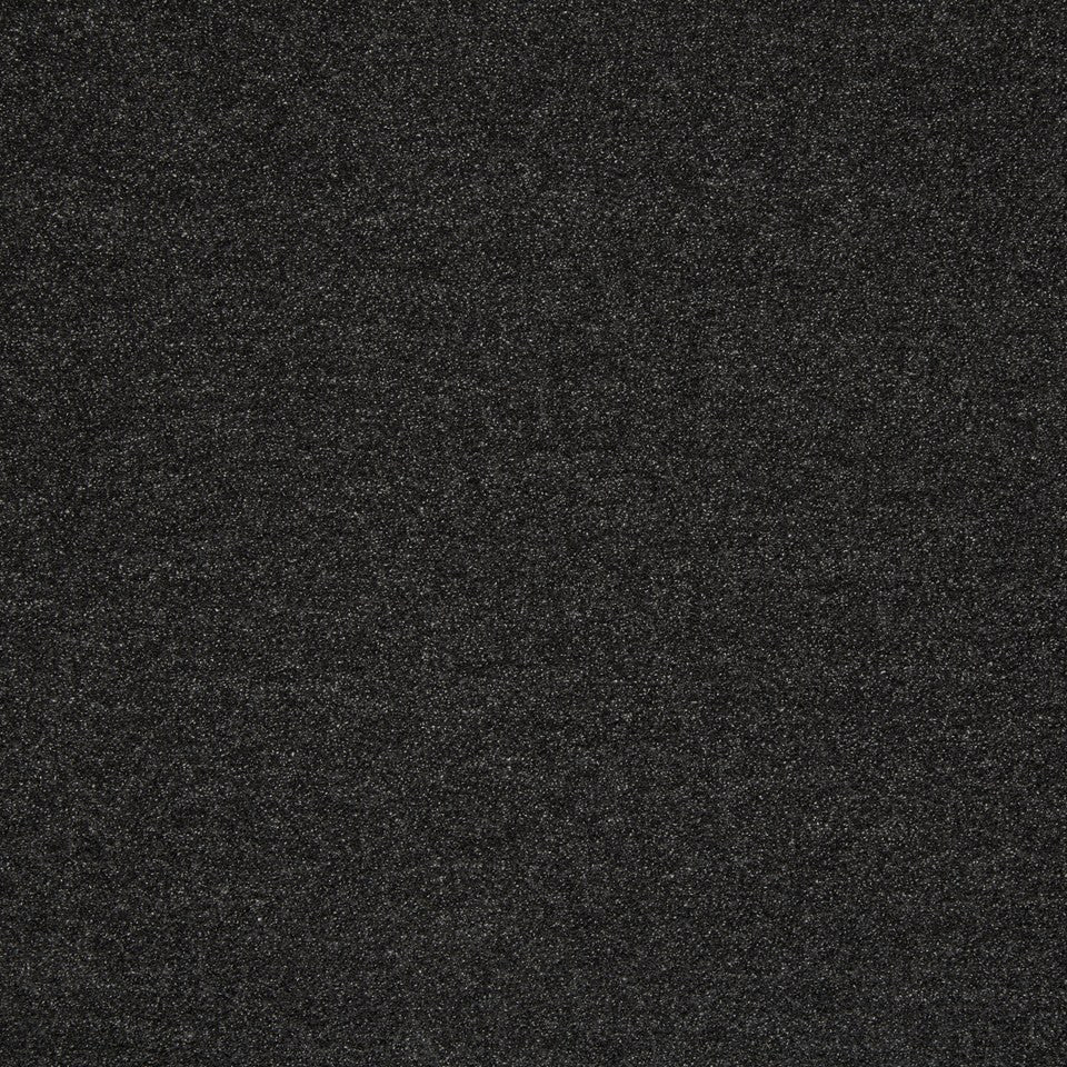 PLUSH BOUCLE SOLIDS Fine Boucle Fabric - Charcoal