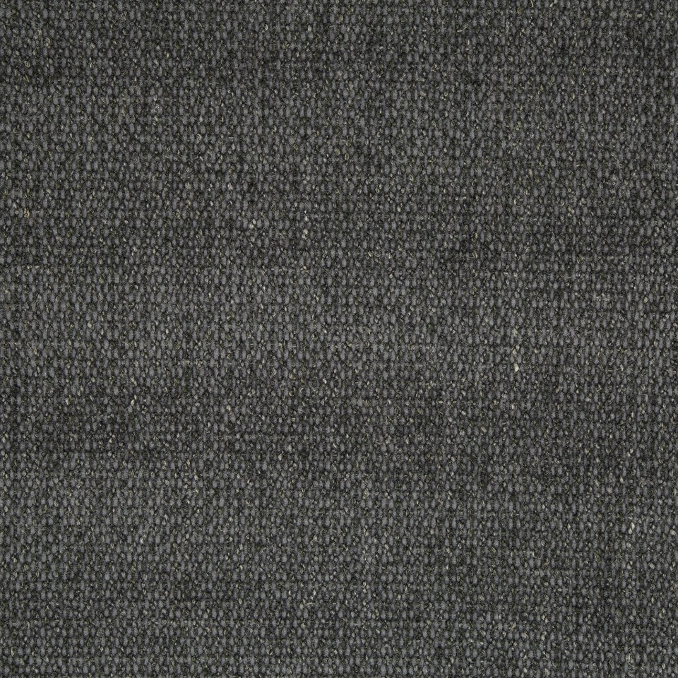 PLUSH BOUCLE SOLIDS Pebble Weave Fabric - Blue Coal
