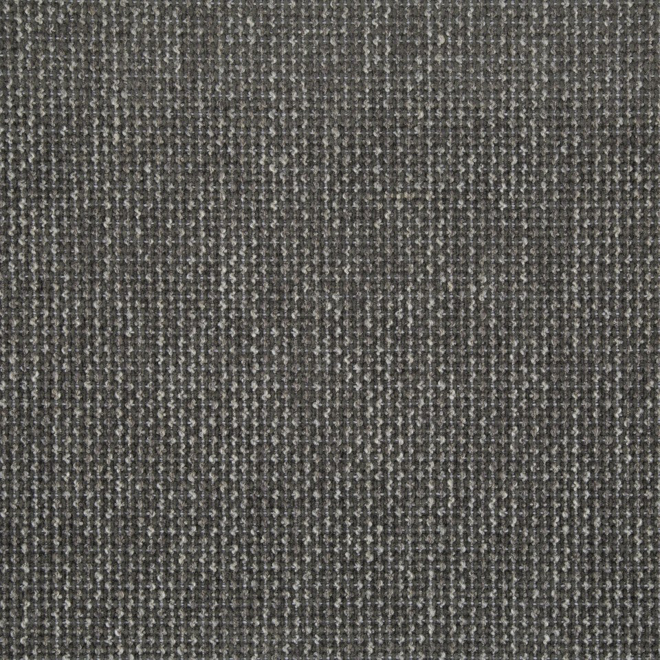 PLUSH BOUCLE SOLIDS Pebble Weave Fabric - Dark Gray
