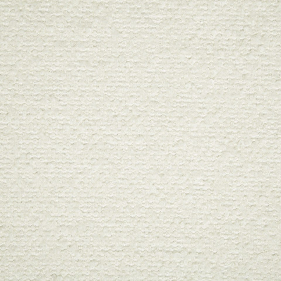 PLUSH BOUCLE SOLIDS Mohair Boucle Fabric - Ivory