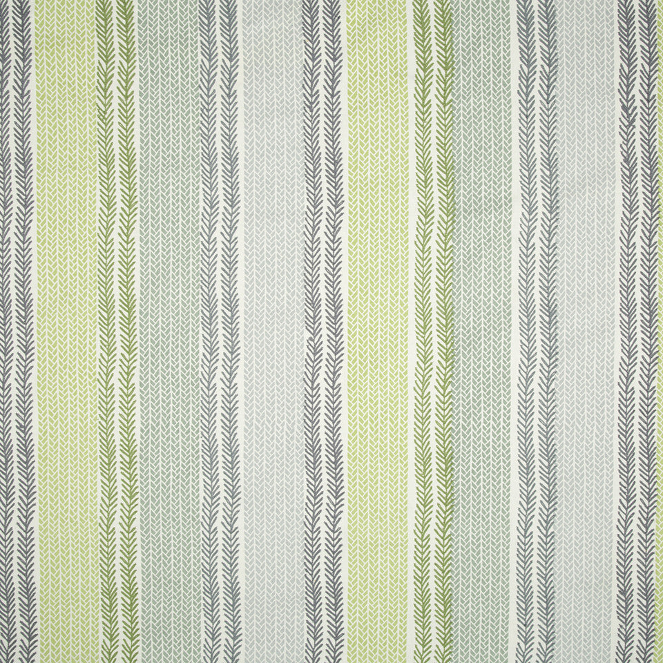 SPRING GRASS Mixed Tracks Fabric - Spring Grass