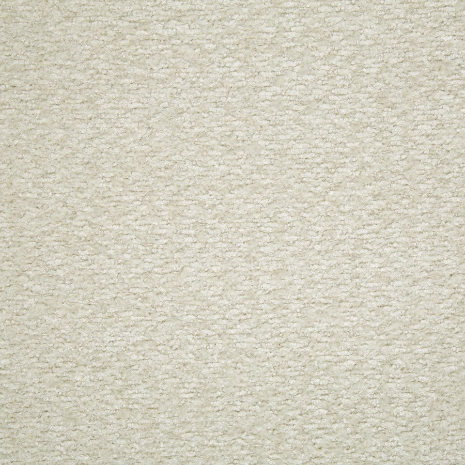 PLUSH BOUCLE SOLIDS Halifax Solid Fabric - Eggshell