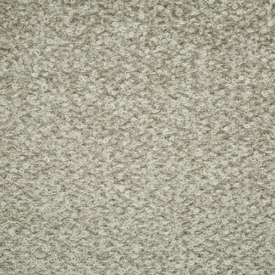 PLUSH BOUCLE SOLIDS Halifax Solid Fabric - Stone