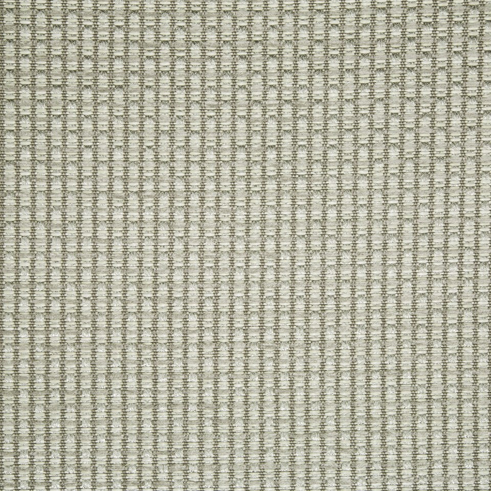 PLUSH CHENILLE SOLIDS Gilded Raffia Fabric - Pewter