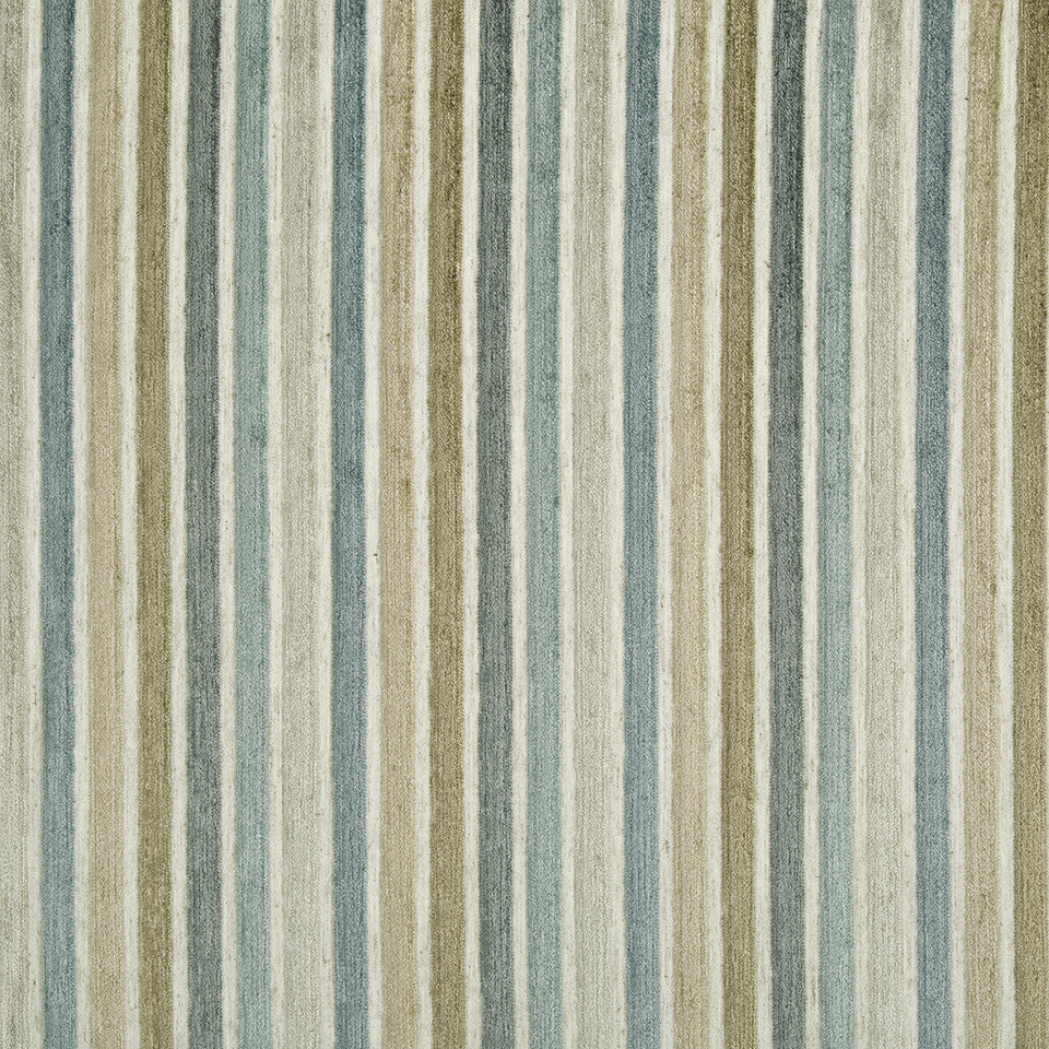 WATER Kara Stripe Fabric - Sea