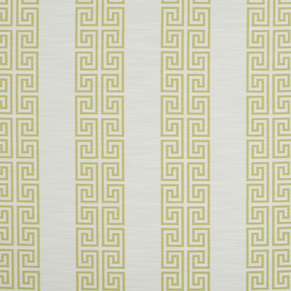 SUNRAY Greek Stripe Fabric - Sunray