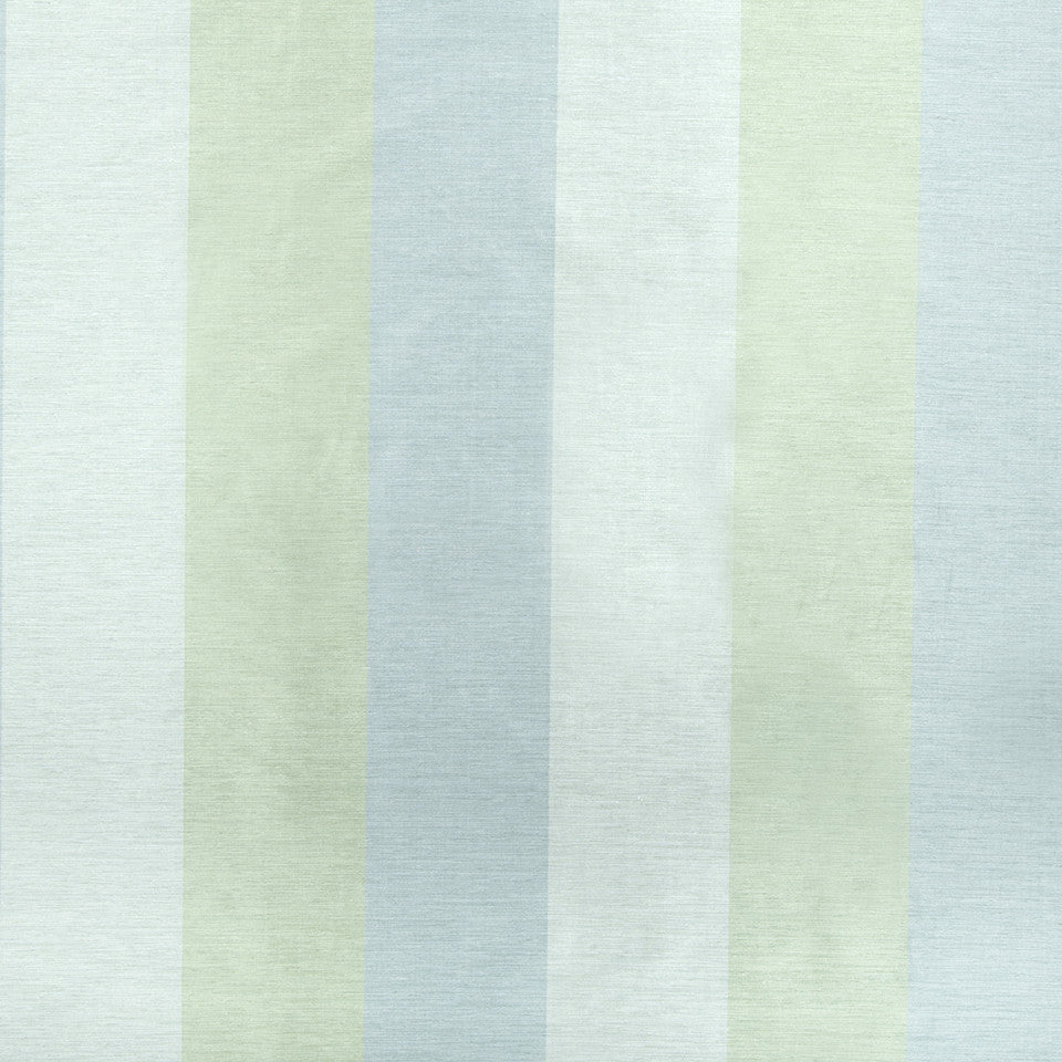 SILK STRIPES & PLAIDS Cecilia Stripe Fabric - Pool