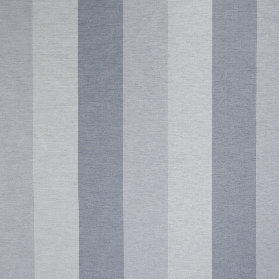 SILK STRIPES & PLAIDS Cecilia Stripe Fabric - Atlantic