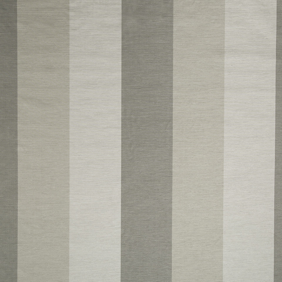SILK STRIPES & PLAIDS Cecilia Stripe Fabric - Silver