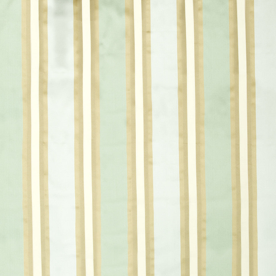 SILK STRIPES & PLAIDS Leblon Stripe Fabric - Sky