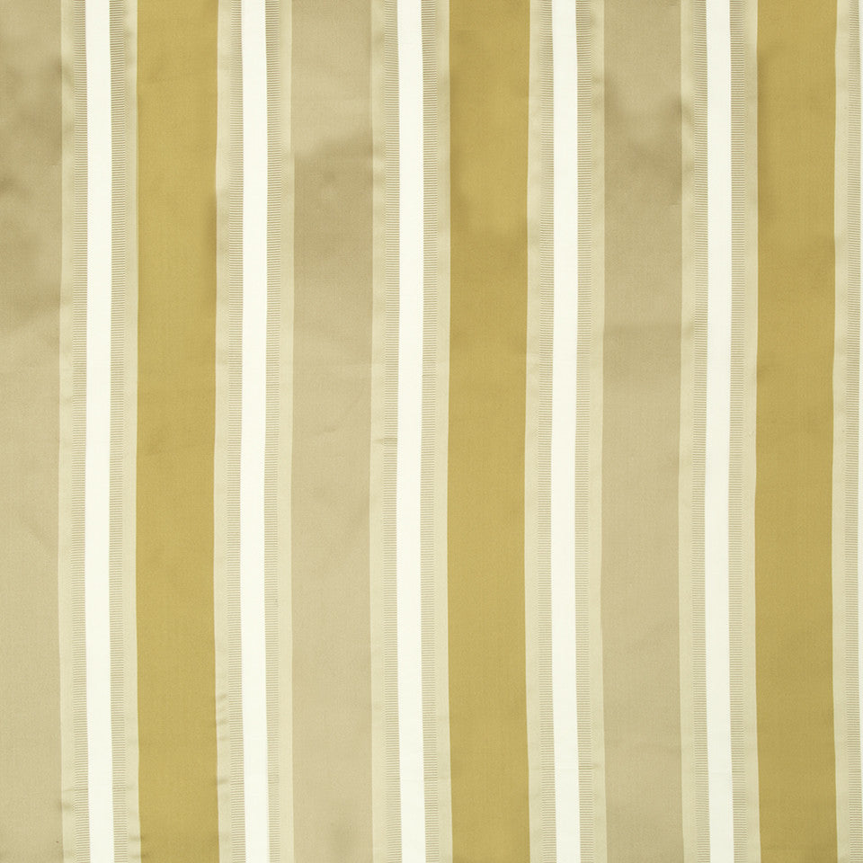 SILK STRIPES & PLAIDS Leblon Stripe Fabric - Bronze