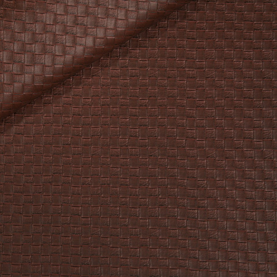 FAUX LEATHER II Via Veneta Fabric - Shiraz