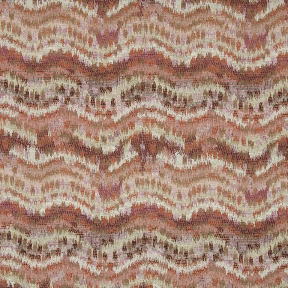 CORAL REEF Distant Dawn Fabric - Coral Reef
