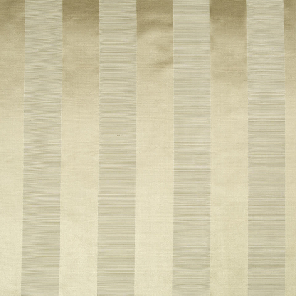 SILK STRIPES & PLAIDS Satin Smooth Fabric - Travertine
