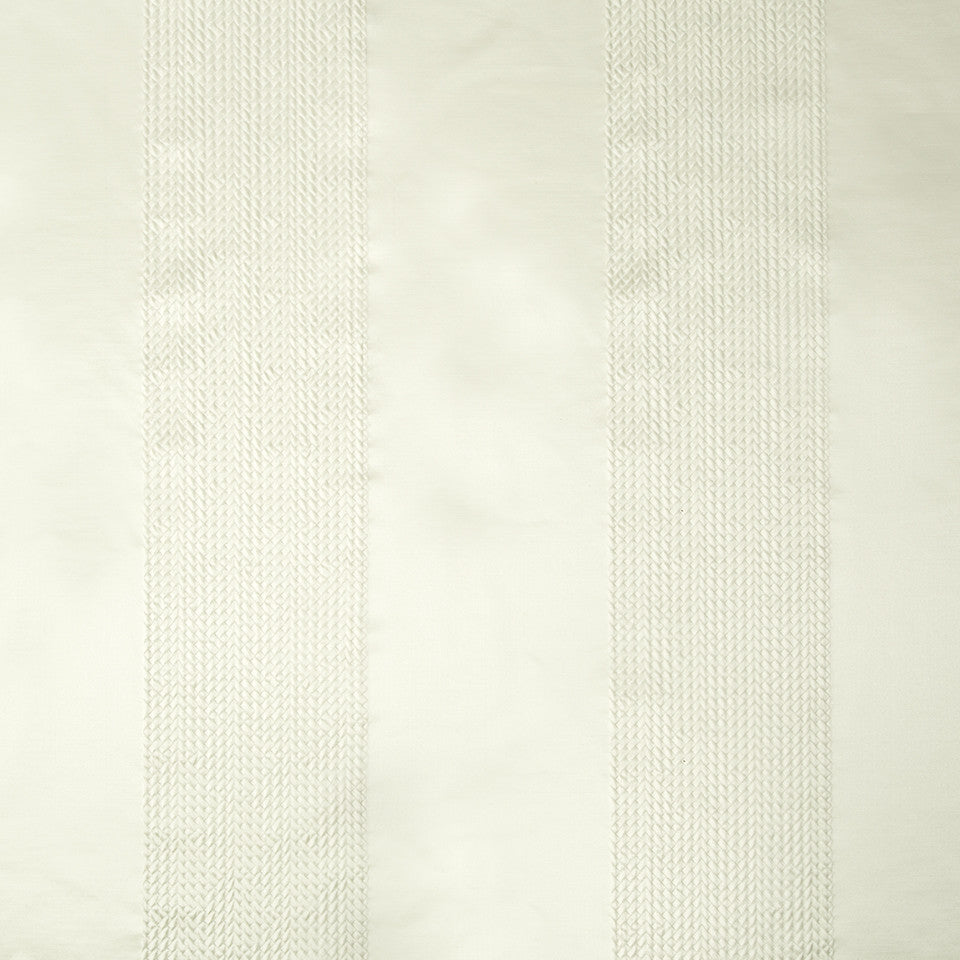 SILK STRIPES & PLAIDS Sabrina Stripe Fabric - Ivory