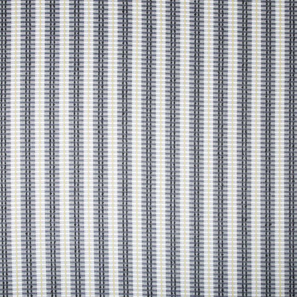 OPEN AIR Picnic Patches Fabric - Indigo