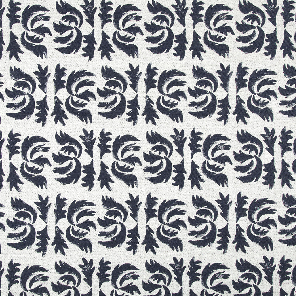 OPEN AIR Flowing Petal Fabric - Indigo