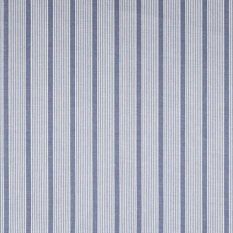 OPEN AIR Aloha Stripe Fabric - Indigo