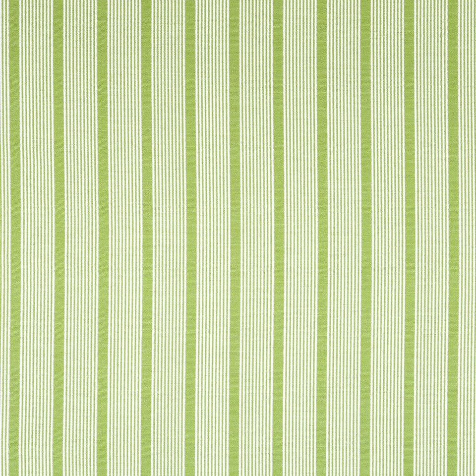 OPEN AIR Aloha Stripe Fabric - Spring Grass
