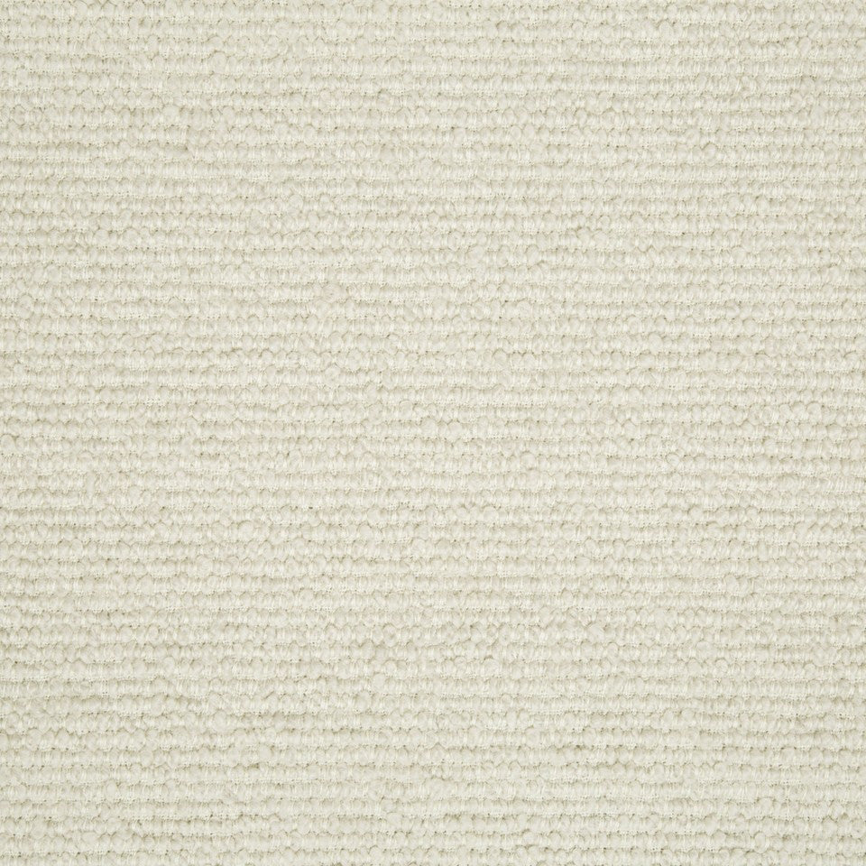 PLUSH BOUCLE SOLIDS Faye Boucle Fabric - Natural