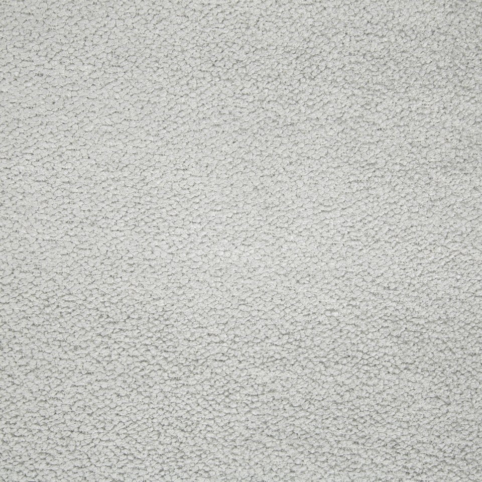 PLUSH CHENILLE SOLIDS Torri Solid Fabric - Platinum