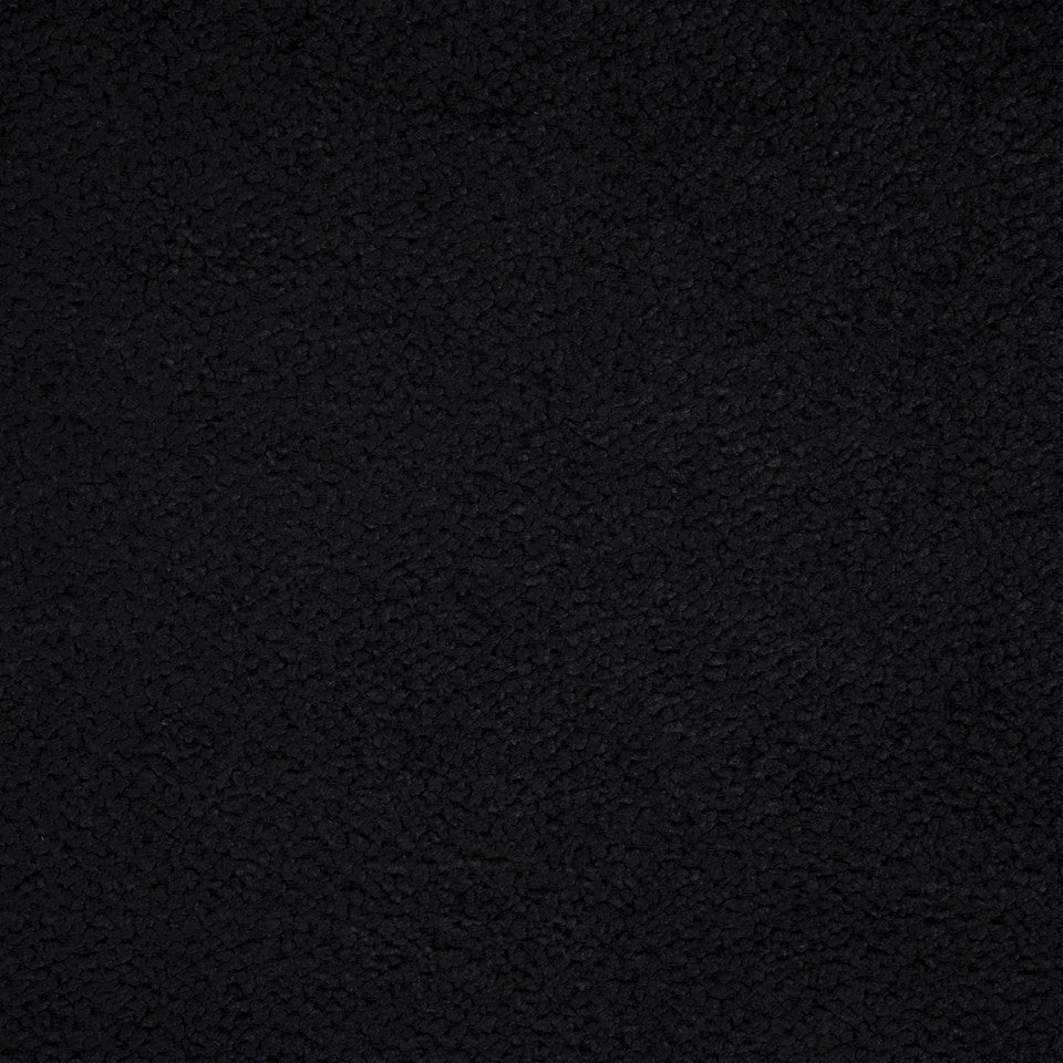 PLUSH CHENILLE SOLIDS Torri Solid Fabric - Black