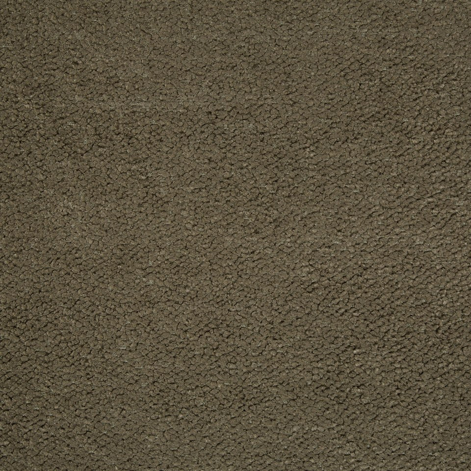 PLUSH CHENILLE SOLIDS Torri Solid Fabric - Taupe