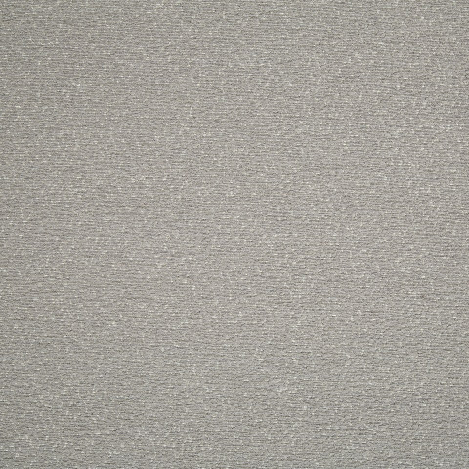 PLUSH BOUCLE SOLIDS Miller Weave Fabric - Warm Gray