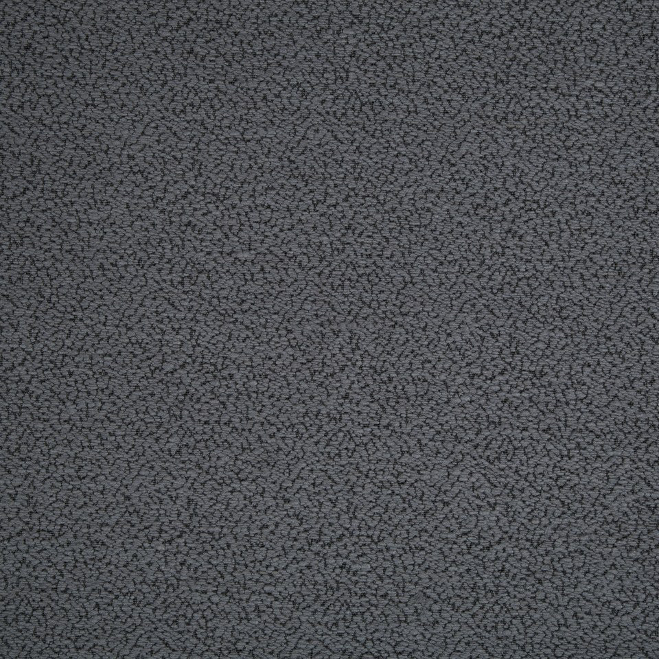 PLUSH BOUCLE SOLIDS Miller Weave Fabric - Coal