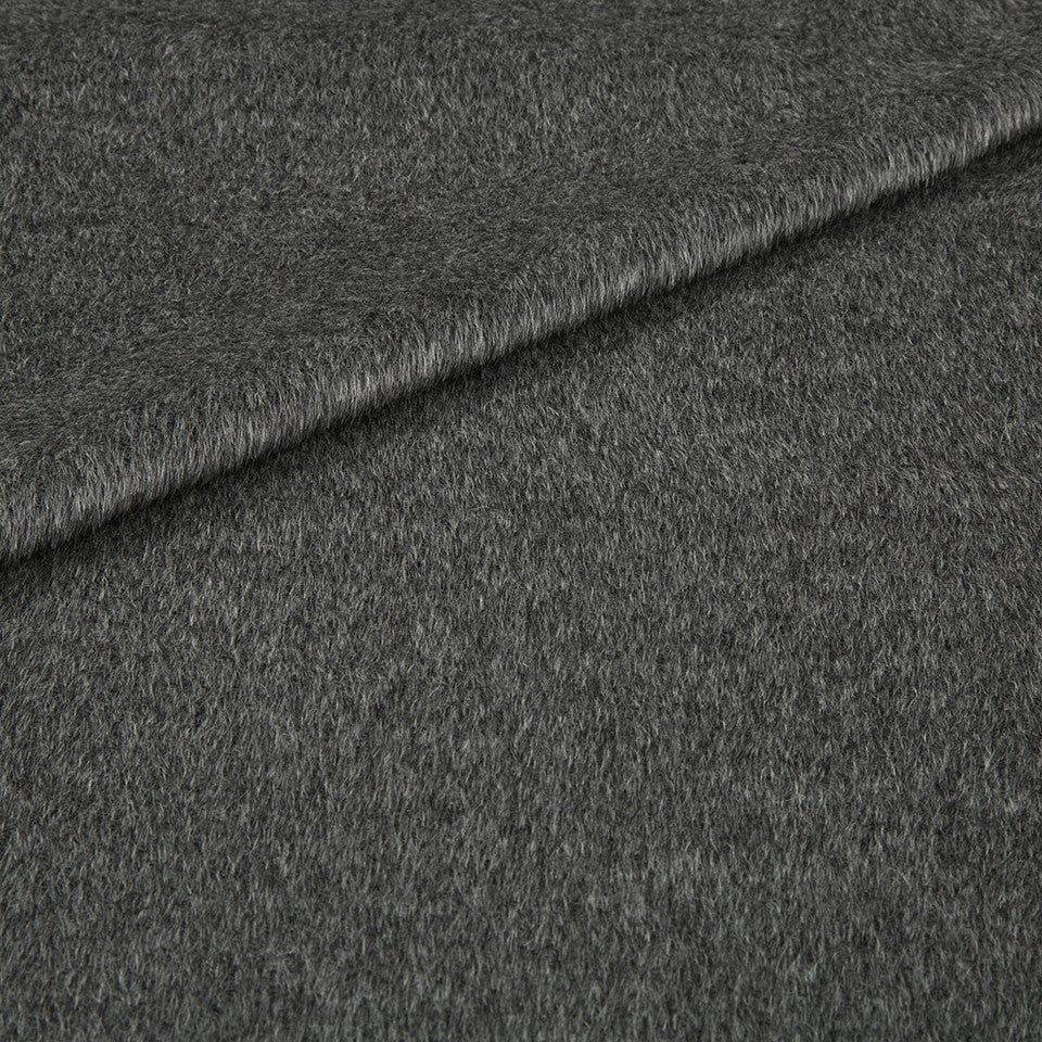 EXCLUSIVE FURS Luxe Alpaca Fabric - Charcoal