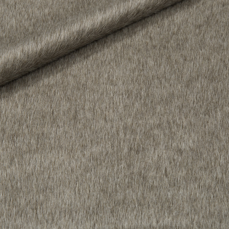 EXCLUSIVE FURS Luxe Alpaca Fabric - Fawn