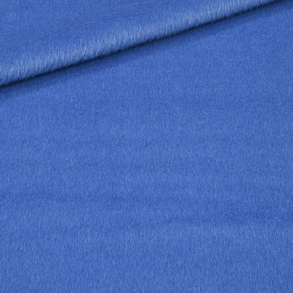 EXCLUSIVE FURS Luxe Alpaca Fabric - Island Blue