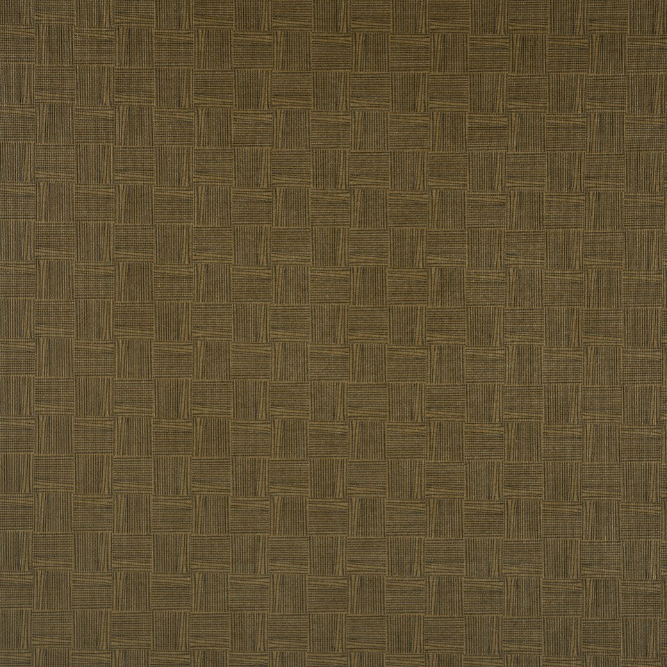 FAUX LEATHER II Thatched Fabric - Latte