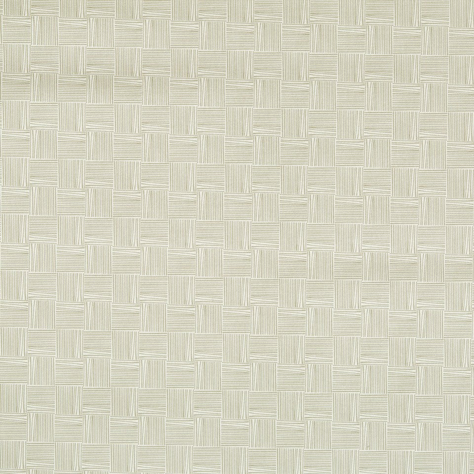 FAUX LEATHER II Thatched Fabric - Vanilla