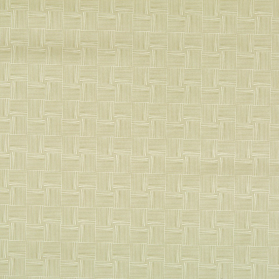 FAUX LEATHER II Thatched Fabric - Tussah